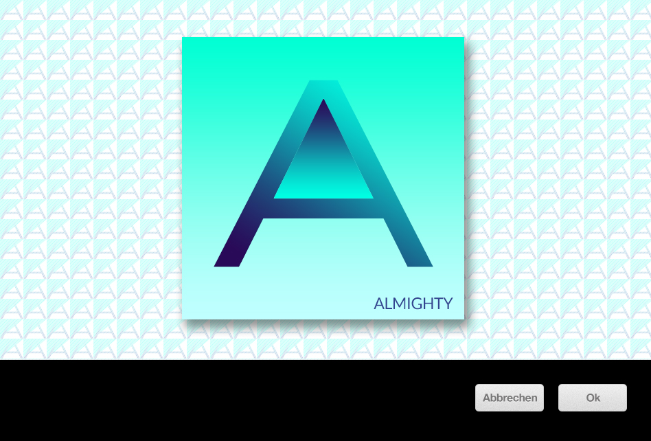 Almighty by kreationswelt - Genieformel