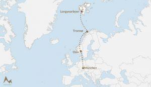 Trip Spitzbergen Karte - Kreationswelt