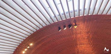 Felsenkirche, Helsinki - Innenansicht
