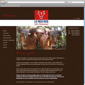 La Vaca Rica – Website